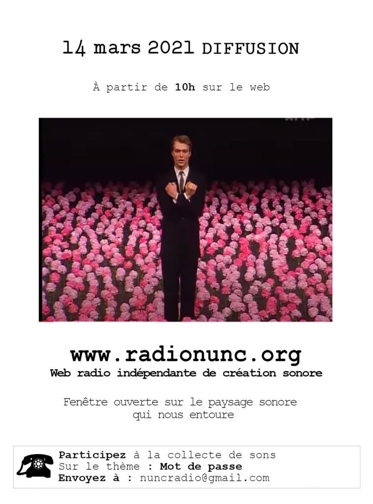 Radio Nunc diffusions 2021